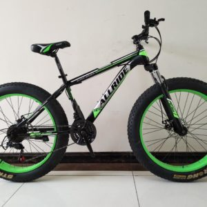 """All Ride 26"""" Fat Tyre Green Cycles(Diamond Model)"""