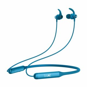boAt Rockerz 335 Wireless Neckband with ASAP Charge, Up to 30H Playback, Qualcomm aptX & CVC, Enhanced Bass, Metal Control Board, IPX5, Type C Port, Bluetooth v5.0, Voice Assistant(Raging Red)