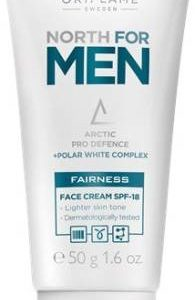 ORIFLAME-North Fairness Face Cream with SPF-18 for Men, 50 g