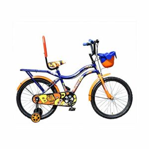 Leader Buddy 20T Kids Cycle for 5 to 9 Years Suitable for Boy and Girl Both Dark blue orange