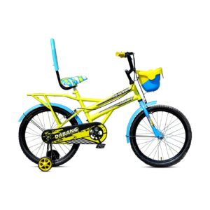 Leader Dabang 20T for Kids - Age Group 7 to 10 Years Yellow Blue