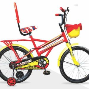 Leader Dabang 20T for Kids - Age Group 7 to 10 Years Red Yellow
