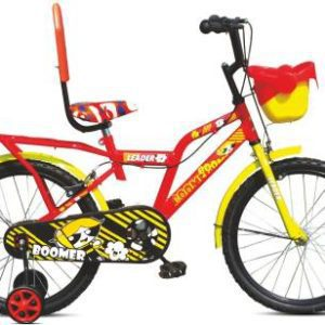 LEADER BOOMER 20T Cycle 20 T Road Cycle (Single Speed, Red Yellow)