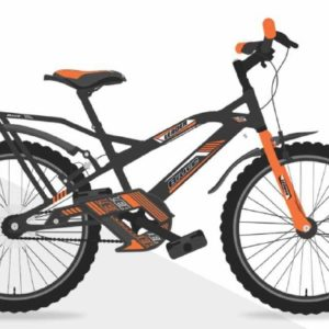 Leader Bruce 20T IBC Cycle for Kids - Age Group 7 to 10 Years grey orange