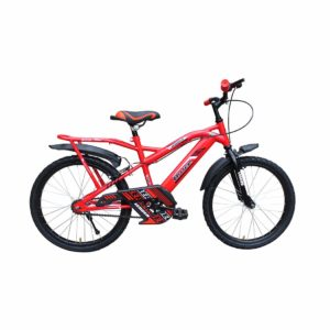 Leader Bruce 20T IBC RS Cycle for Kids - Age Group 7 to 10 Years Red Black