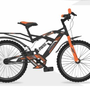 Leader Bruce 20T IBC RS Cycle for Kids - Age Group 7 to 10 Years Grey Orange
